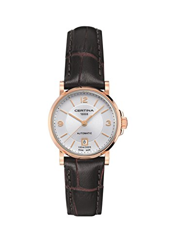 Certina DS Caimano Automatic Silver Dial Ladies Watch C0172073603700