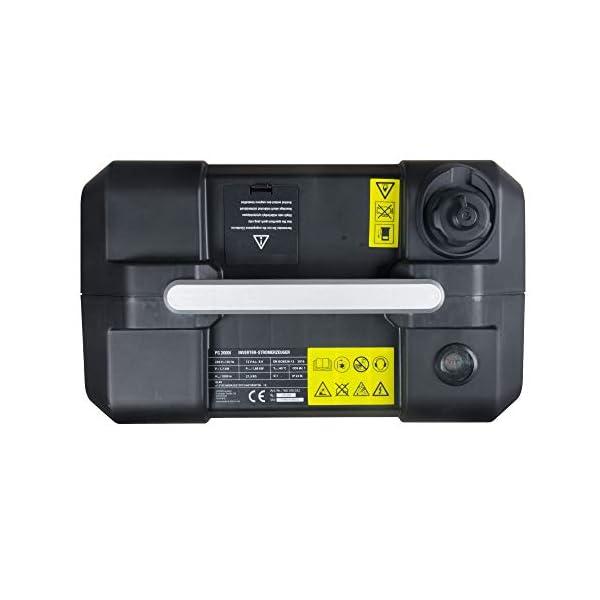 41oTNlkV6YL Matrix Inverter Stromgenerator mit USB, Benzin leise, 4 takt, 2000 Watt, für Camping und Garage