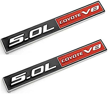 Amazon com: UpAuto 5 0L Coyote V8 Emblem Metal Sticker