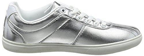 Lico Women's Tamara Trainers Silver (Silber/Weiss Silber/Weiss) 6Uk7Ue