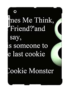 Fashion Tpu Case For Ipad 2/3/4- Cookie Monster About Friends Defender Case Cover For Lovers