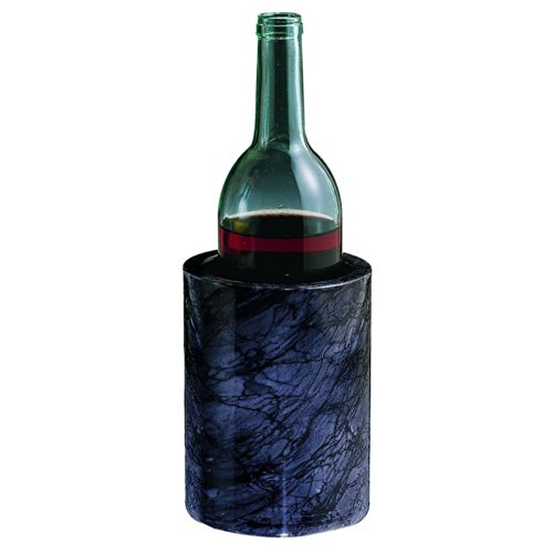 ComeAlong Industries Tabletop Black Marble Wine Cooler, 3-3/4