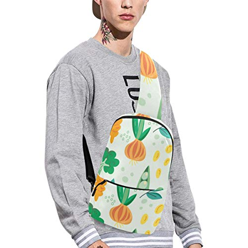 Sling Shoulder Bag Fashion Fruit And Vegetable Harvest Sweet Crossbody Bag Daily Sports Climbing Or Multi-purpose Backpack Men Women Ladies Teens