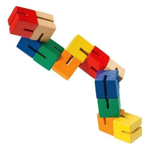 Toysmith Wooden Puzzle Fidget 4 Pack