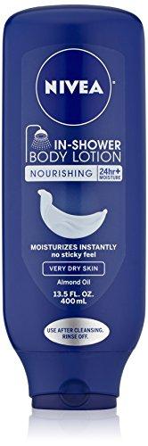NIVEA en douche nourrissante lotion pour le corps pour les peaux très sèches, 13,5 onces