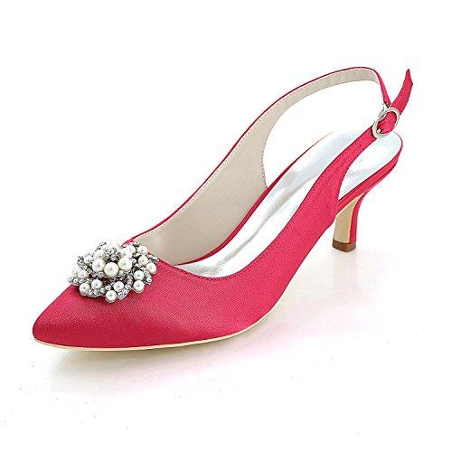 L@YC Consejo De Tacones altos Para Mujer Bodas De Tarde / Fiesta Y Zapatos MáS Colores Disponibles 1608-20W Pink