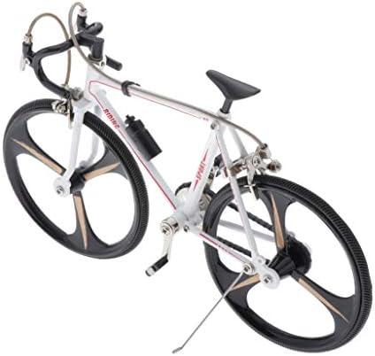 [해외]SaniMomo Zinc Alloy Racing Bike Bicycle Model Christmas Brithday Gift for Dad Boy Cyclist Teacher and More - Style2 / SaniMomo Zinc Alloy Racing Bike Bicycle Model Christmas Brithday Gift for Dad, Boy, Cyclist, Teacher and More - S...