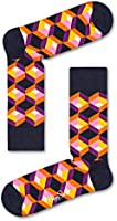 Happy Socks, Colorful Premium Cotton Patterned Fun Socks for Men and Women
