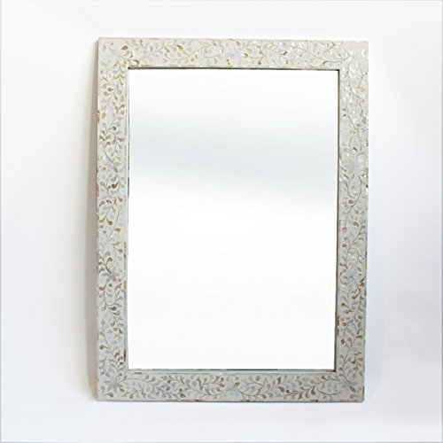 Mother Of Pearl Inlay Mirror Frame Buy Online In Uae