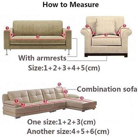 Fundas gruesas para sofás de 1, 2, 3 y 4 asientos, color puro, de terciopelo, fáciles de ajustar y de tejido elástico, gris claro, 3 Seater:195-230cm