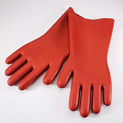 ESA SUPPLIES Insulated Gloves Rubber 12KV Safety Electrical Protective Work Gloves