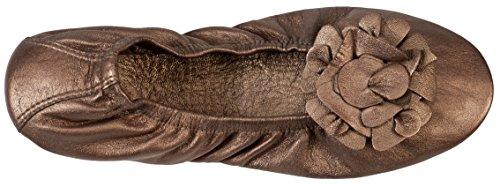 Atriolis Pack Balade - ballerines pliables avec accessoires - femmes - 38 Bronze F9lZE6Z