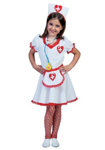 Girls Nurse Costumes Nancy (Big Girls' Nurse Nancy Costume Medium)