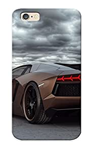 Guidepostee Protection Case For Iphone 6 / Case Cover For Christmas Day Gift(wheelsandmore Lamborghini Aventador Rabbioso )