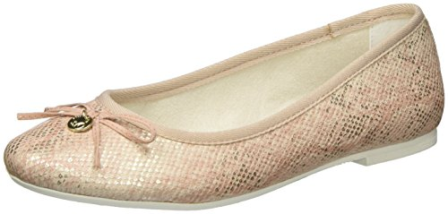 s.Oliver Women's 22123 Ballet Flats Pink (Rose Struct. 545) gWxttJZC