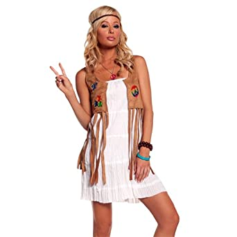 sc 1 st  Amazon.com & Amazon.com: Flower Child Costume - Large - Dress Size 10-14: Clothing