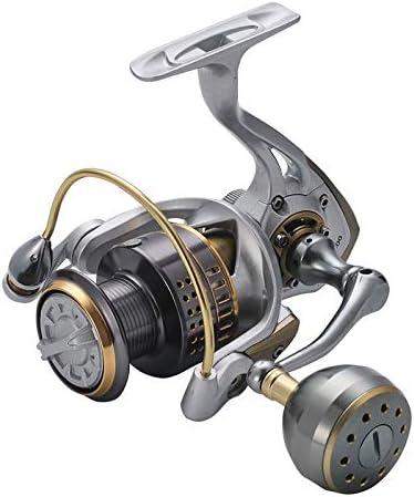 Spinning Carretes Todos los metales giro de la rueda grande del ...