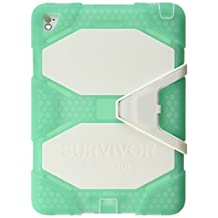 """Griffin Survivor All-Terrain Rugged Case for iPad Pro 9.7"""" Green/White MH"""