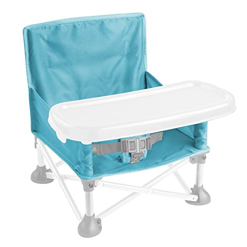 Great Features Of Summer Infant Pop N' Sit Booster Seat, Aqua Splash
