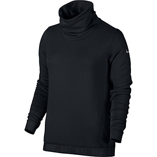 Nike Dry Top Cowl Neck Long Sleeve Women's Training Sweatshirt (S, (Pullover Training Top)