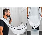 Man Beard Bib Bathroom Beard Apron For Man Beard Trimming Catcher Waterproof Floral Cloth Household Cleaning Protection