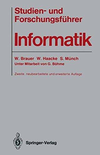 Studien- Und Forschungsf Hrer Informatik (German Edition)
