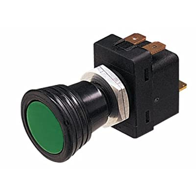 HELLA 004778001 Illuminated On/Off SPST Push/Pull Switch With 3 Interchangeable Lenses: Automotive