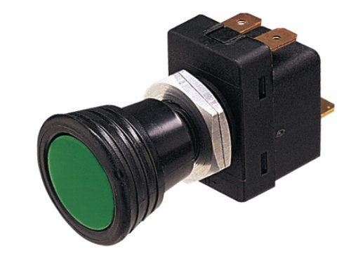 HELLA 004778001 Illuminated On/Off SPST Push/Pull Switch With 3 Interchangeable Lenses