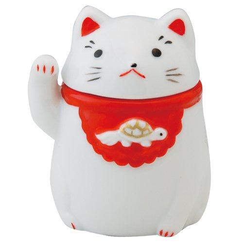 [해외]손짓 이쑤시개 넣어 (오른쪽) [7.8 x7x 5.9 cm] 인형 인테리어 / Lucky cat skewers put (right) [7.8 x7x 5.9 cm] ornament interior