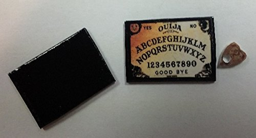 Handcrafted Ouija Board (Dollhouse Handcrafted Ouija Board by Superior Dollhouse Miniatures)