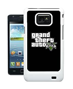COVER FOR SAMSUNG S2 i9100 GRAND THEFT AUTO 5, V CASE by ruishername