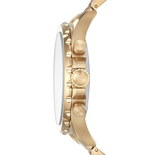 41oTXT2q1mL - Fossil Q Men's Nate Stainless Steel Hybrid Smartwatch, Color: Gold-Tone (Model: FTW1142)