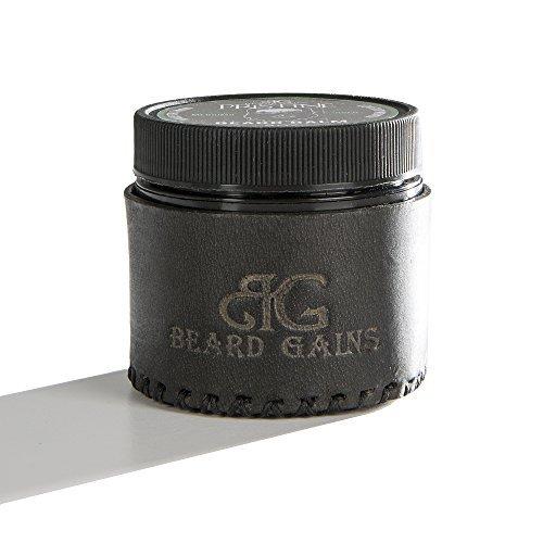 Beard Gains - Exclusive Beard Balm - Promotes Growth while Moisturizing - 2oz - Medium Hold by Beard Gains