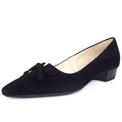 Peter Kaiser Lizzy II Womens Dress Shoes Black Suede fj89j