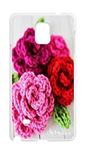 Karipa:rose case,rose case for Samsung Galaxy Note 4.