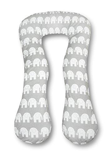 Amilian/® STILLKISSEN MEGA WEICH Lagerungskissen Seitenschl/äferkissen ink.Bezug 170cm NEU XXL Giraffe Bunt