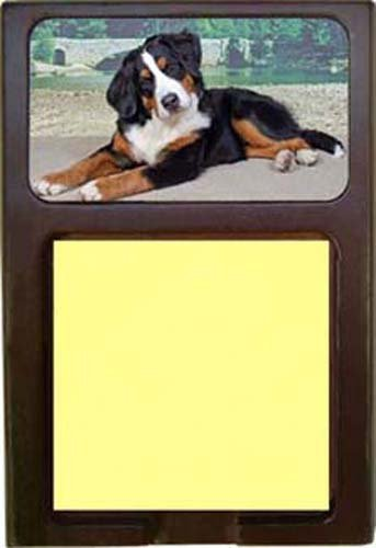 Bernese Mountain Dog Sticky Note - Notepad Imprinted White