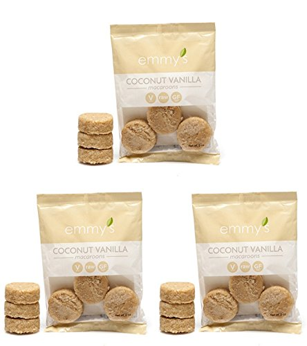 (Emmy's Macaroons, 2 Ounce (Pack of 3) (Coconut Vanilla))