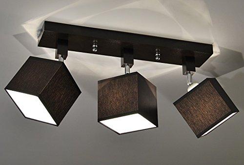 Plafoniera illuminazione a soffitto in legno massiccio lls dpr