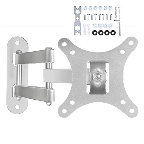 "Happyjoy Full Motion 10-30"" Sliver TV Wall Mount Bracket Til"