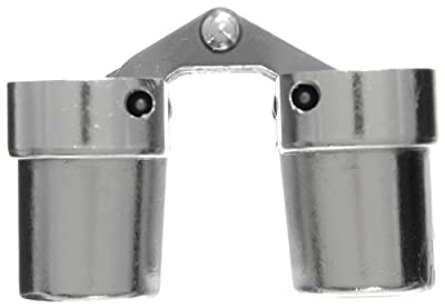 "SOSS 212US26D Mortise Mount Invisible Hinge with 4 Holes, Zinc, Satin Chrome Finish, 3-3/4"" Leaf Height, 3/4"" Leaf Width, 1-5/64"" Leaf Thickness, 10 x 1-1/4"" Screw Size"