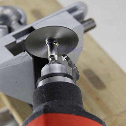 Show 1 Set/6 Pieces HSS Rotary Circular Saw Blades Tool Cutting Discs Mandrel For Dremel Cutoff price