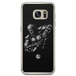 Loud Universe Sub Zero Samsung S7 Case Mortal Kombat Art samsung S7 Cover with Transparent Edges