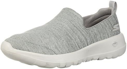 Go Walk Joy-15611 Wide Sneaker,gray