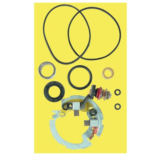 (DB Electrical SMU9114 Starter Repair Kit With Brush Holder For Polaris ATV 4-Stroke 325 330 335 400 450 500 HO EFI)