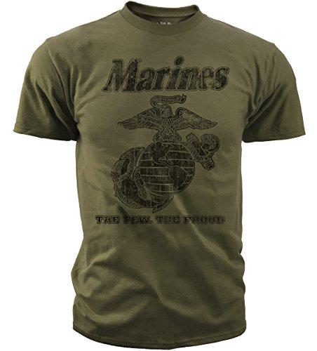 Black Ink Design BT-1019O Marines Classic