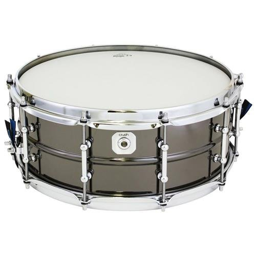 Crush Drums & Percussion BMS14X55N 14-Inch Snare Drum, Black Nickel (Snare Drum Acrylic)