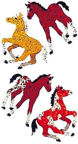 50 Repeats Dragons Bulk Roll Prismatic Stickers
