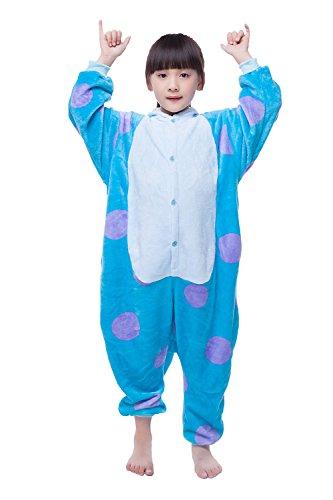 NEWCOSPLAY Halloween Unisex Animal Pyjamas Child Cosplay Costume (105, Sullivan) for $<!--$22.99-->