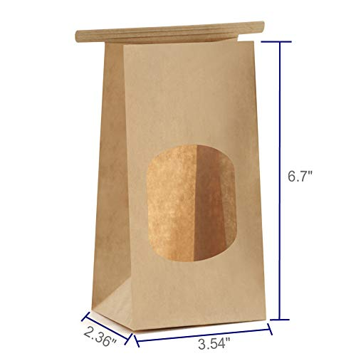 Buy coffee bags with window